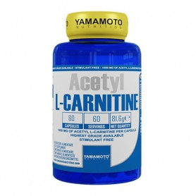 Acetyl L-Carnitine - 60 capsules   Yamamoto Nutrition