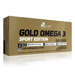 Gold Omega 3 - 120 gélules - OLIMP NUTRITION