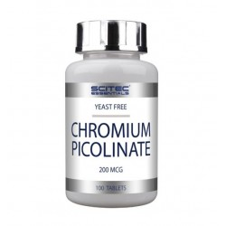 Chrome Picolinate -100 tablettes - SCITEC NUTRITION