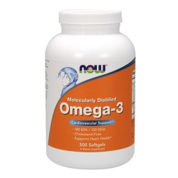 Omega 3 - 500 caps -NOW FOODS