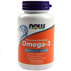 Omega 3 -100 caps NOW FOODS