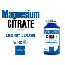 Magnesium citrate 90 tablettes - YAMAMOTO NUTRITION
