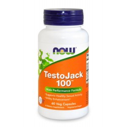 Testo Jack 100 - 60 caps - NOW FOODS