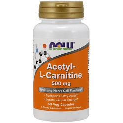 Acetyl L-Carnitine 50 caps - NOW FOODS