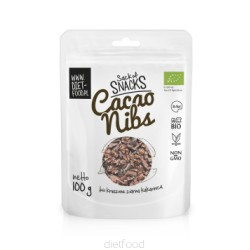Cacao pure en copeaux - 100g - DIET FOOD