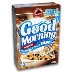 Céréales protéinées - Good Morning - Perfect Breakfast - 500g - MAX PROTEIN