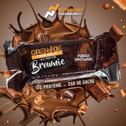 Brownie protéiné Carb Killa - 60g - GRENADE