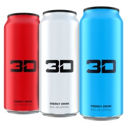 3D Energy Drinks - 473ml - Nutrisport Performances
