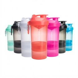 Shaker Original2Go - Smartshake - 400ml + 2 compartiments