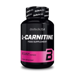 L-Carnitine 1000mg - 30 tablettes - BIOTECH USA