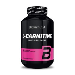 L-Carnitine 1000mg - 60 tablettes - BIOTECH USA