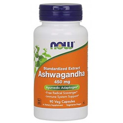 Ashwagandha 90 caps - NOW FOODS
