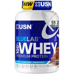 100% Blue Label Whey Protéi - 2kg - USN