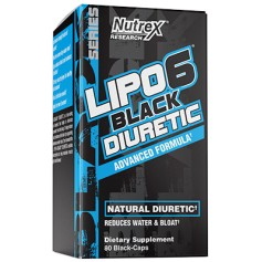 Lipo 6 Black Diurétic - 80 Caps - NUTREX